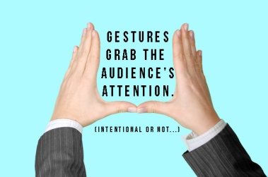 Grab attention